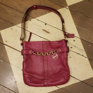 EUC *Coach* convertible shoulder/crossbody purse